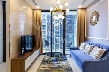 Ultra-stylish Vinhomes Golden River apartment with royal furniture