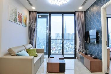 Tidy and cosy apartment with Landmark 81 view