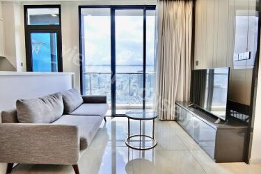Landmark 81 view from almost top-floor Vinhomes Golden River