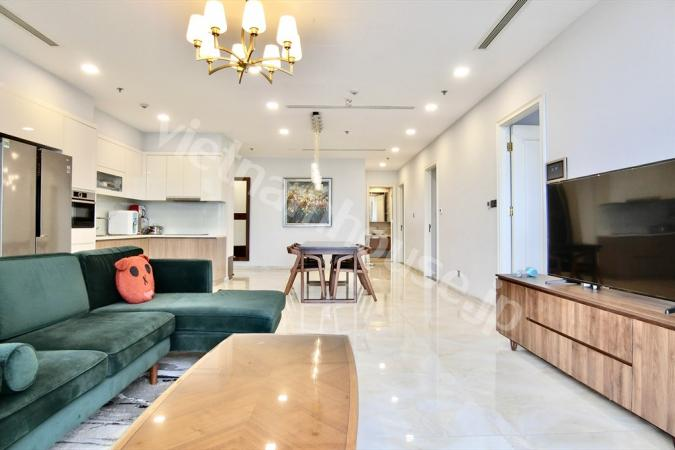 Extraordinary apartment in the heart of Saigon's vibrant district