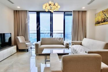 Fully serviced four-bedroom Vinhomes apartment