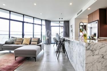 Glamorous City Garden condominium with wide view