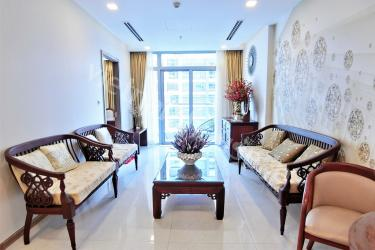 Numerous sofas inside lounge room of Vinhomes