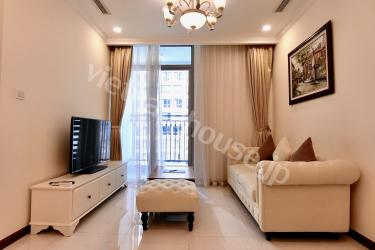 Vinhomes Central Park with 1 bedroom and bathtub