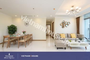 Fantastic images of three bedrooms in Vinhomes condominium