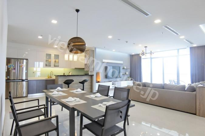 レア感満載Vinhomes Central Park 4bedroom