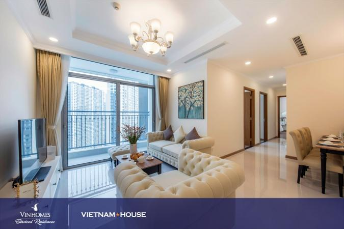 Great location of Vinhomes apartment in District Binh Thanh