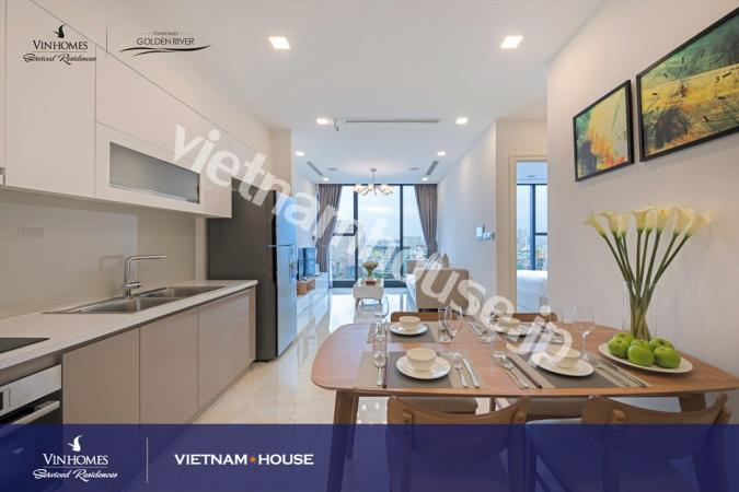 Vinhomes Golden River apartment like your home in District 1