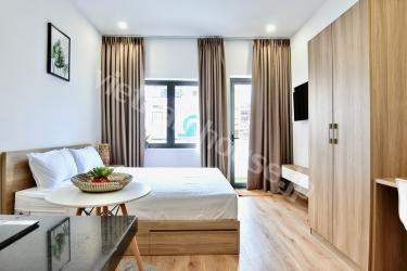 Brand new serviced apartment near Ong Lanh bridge