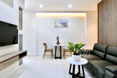 Corner serviced apartment with best services