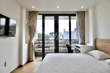 Just another serviced apartment near Le Van Tam park