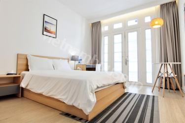 Good serviced apartment with wooden furniture in District 1