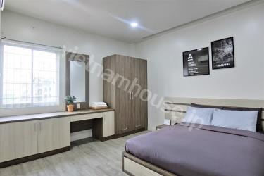 The modern serviced apartment for living near Ben Thanh market.