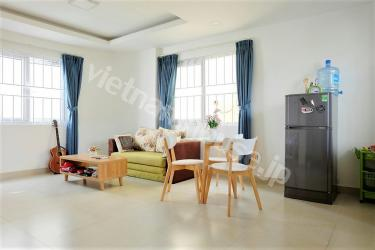 Private serviced apartment in quiet alley of District 1
