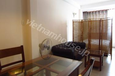 Serviced apartment equipped with high-quality furniture in District 1