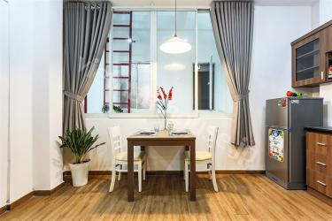 New appointed serviced apartment near a place rich in culture