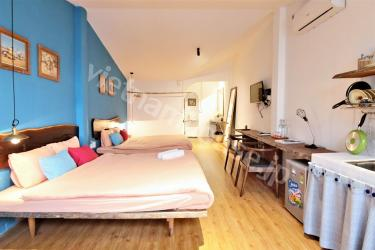 Two double bed apartment for long-term stay