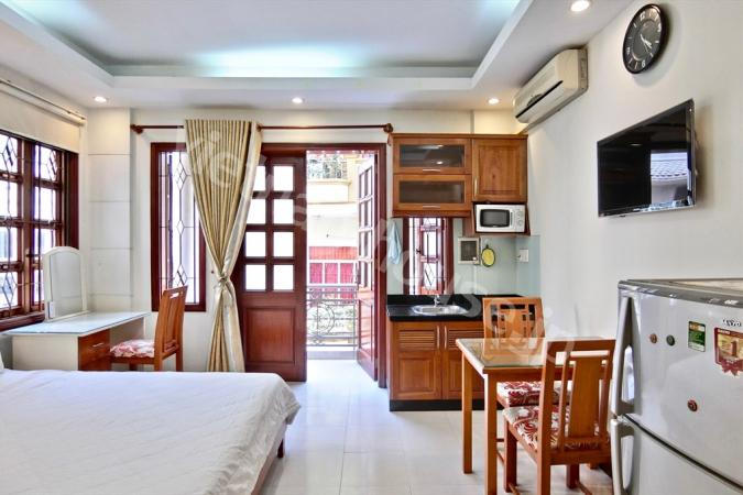 Sweet and cozy studio apartment near Bui Vien walking street