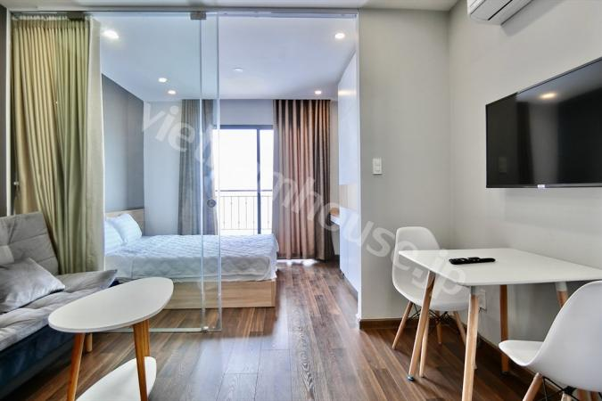 Peaceful place for 1-bedroom serviced apartment