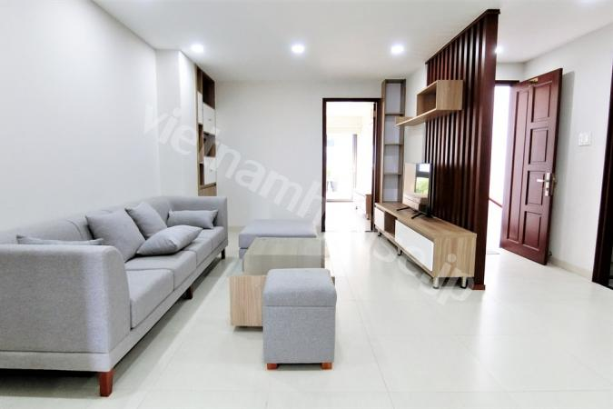Two bedroom serviced apartment near Saigon river