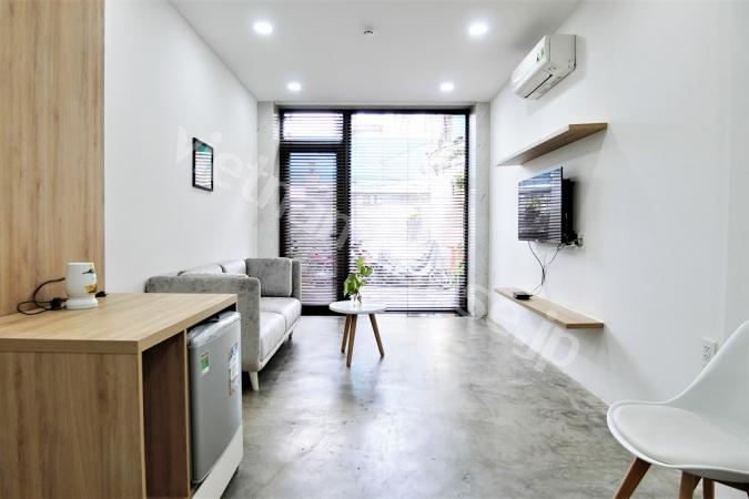 Ground floor serviced apartment with 2