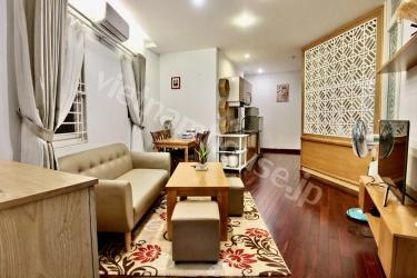 Good living in serviced apartment in Binh Thanh District
