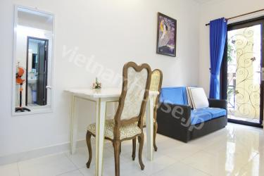The serviced apartment is designed along classical styles
