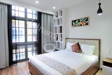 The serviced apartment is convinient and creative design