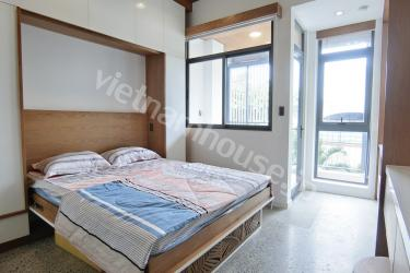 All high quality furniture in airy apartment District Binh Thanh
