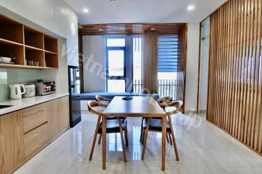 New layout of Binh Thanh district serviced apartment