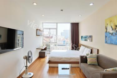 Classy studio serviced apartment in Phu Nhuan