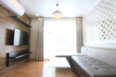 Luxury and bright Seviced Apartment with great city view in Phu Nhuan District.