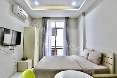 Nice-looking studio apartment in the center of Phu Nhuan District
