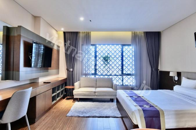 Serviced apartment defined by bespoke luxury and style